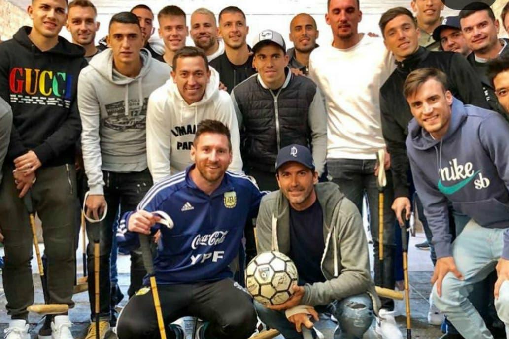 Y un día Messi jugó al Polo y demostró ser un crack junto a Adolfo Cambiaso