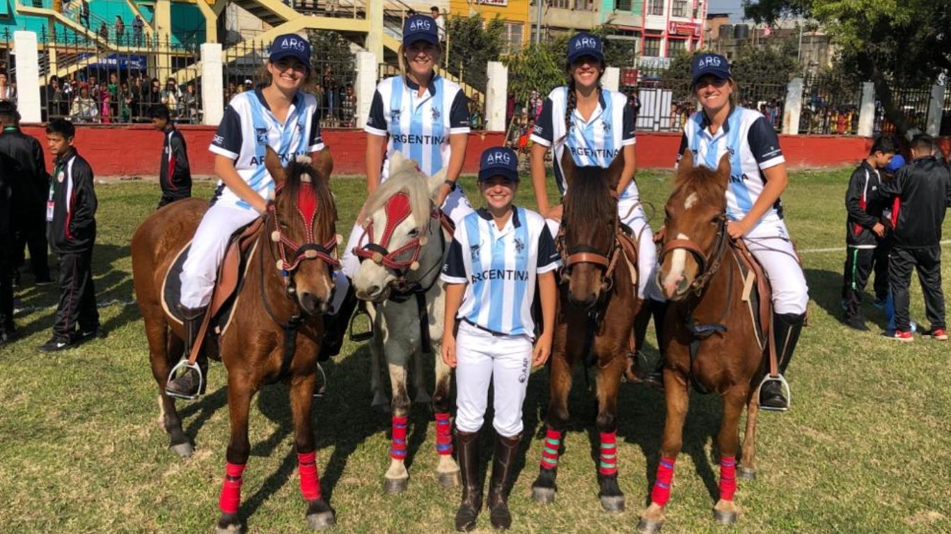 Se disputó nueva jornada de Polo Femenino en Manipur 2020